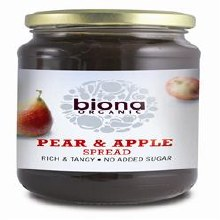 Biona Pear & Apple Spread