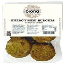 Biona Org Mini Energy Burgers