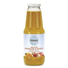Biona Peach Apricot Apple Jce
