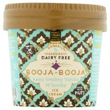 Booja Vanilla Ice Small Tubs
