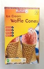 Barkat Gf Waffle Ice Crm Cones