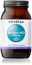 Betaine HCl 650mg with Gentian