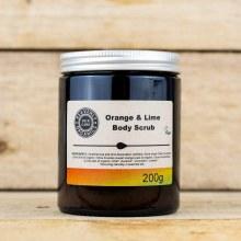 Body Scrub Orange & Lime