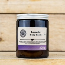 Body Scrub Lavender