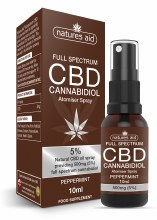 Natures Aid Cbd Oil 5% Spray