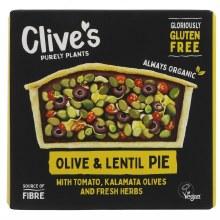 Clives G/free Lentil/olive Pie