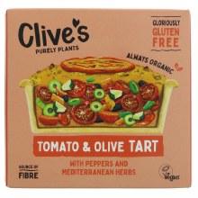 Clives Tomato & Olive Tart