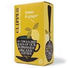 Clipper Lemon & Ginger Tea