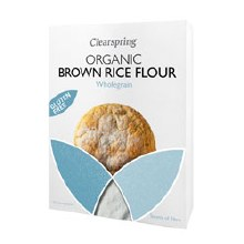 Clearspring Organic Gluten - Free Brown Rice Flour