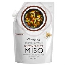 Clearspg Brwn Rice Miso Pouch