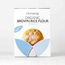 Clearspring Organic Gluten - Free Brown Rice Flour