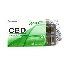 Canabidol CBD Capsules 300mg