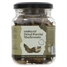 Cooks & Co Dried Porcini Mush