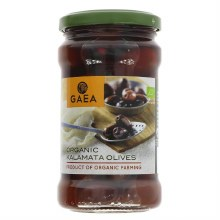 Gaea Kalamata Olives - Organic
