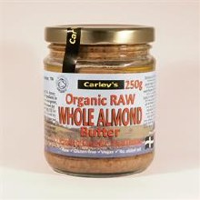 Carleys Raw Almond Butter