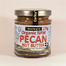 Carleys Raw Pecan Butter Org