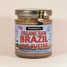 Carleys Raw Brazil Butter Org