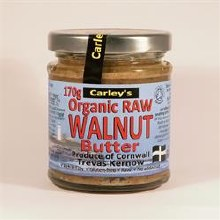 Carleys Raw Walnut Butter Org