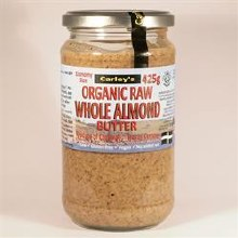 Carleys Raw Almond Butter 425g