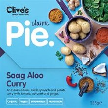 Saag Aloo Curry Pie