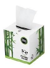 Bamboo Facial Tissue Cube