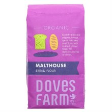 Doves Organic Malthouse Bread Flour 1kg