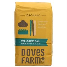 Doves Organic Wholemeal Bread Flour 1.5kg