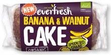 Org Spr Banana & Walnut Cake