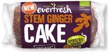 Everfresh Sprouted Ginger Cake