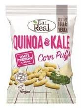Quinoa Kale Puffs Cheese