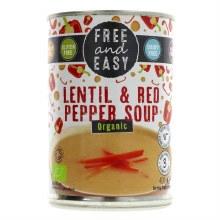 Free Lentil Red Pepper Soup