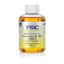 FSC Vitamin E Oil Liquid 100iu