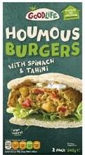 Goodlife Houmous Burgers