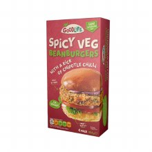 Goodlife Spicy Bean Burgers