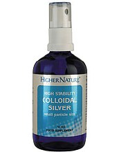 Higher Nature Colloidal Silver Spray 15ml