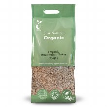 Org Buckwheat Flakes 350g