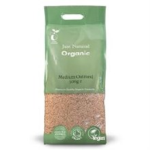 Org Oatmeal Medium 500g