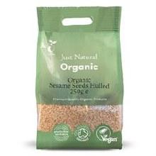 Org Sesame Seeds Hulled 250g