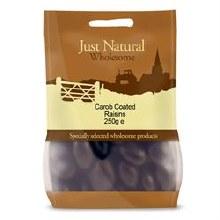 Carob Coated Raisins 250g