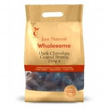 Dark Chocolate Coated Brazils 250g