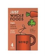 Org Carrot & Coriander Soup