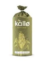 Kallo Corn Cakes Organic