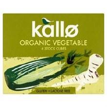 Kallo Organic Veg.stock Cubes
