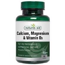Natures Aid Calcium Magnesium & Vitamin D3