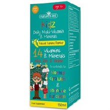 Natures Aid Kidz Milti-Vitamin & Minerals