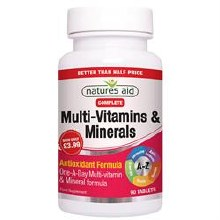 Natures Aid Multi Vitamins & Minerals