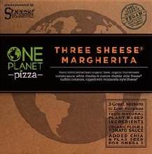 One Planet Three Sheese Pizza