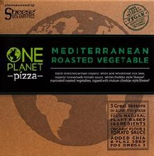 One Planet Vegetable Pizza