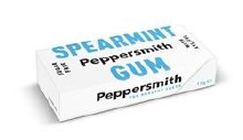 Peppersmith Spearmint Gum