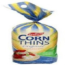 Real Foods Corn Thins Original